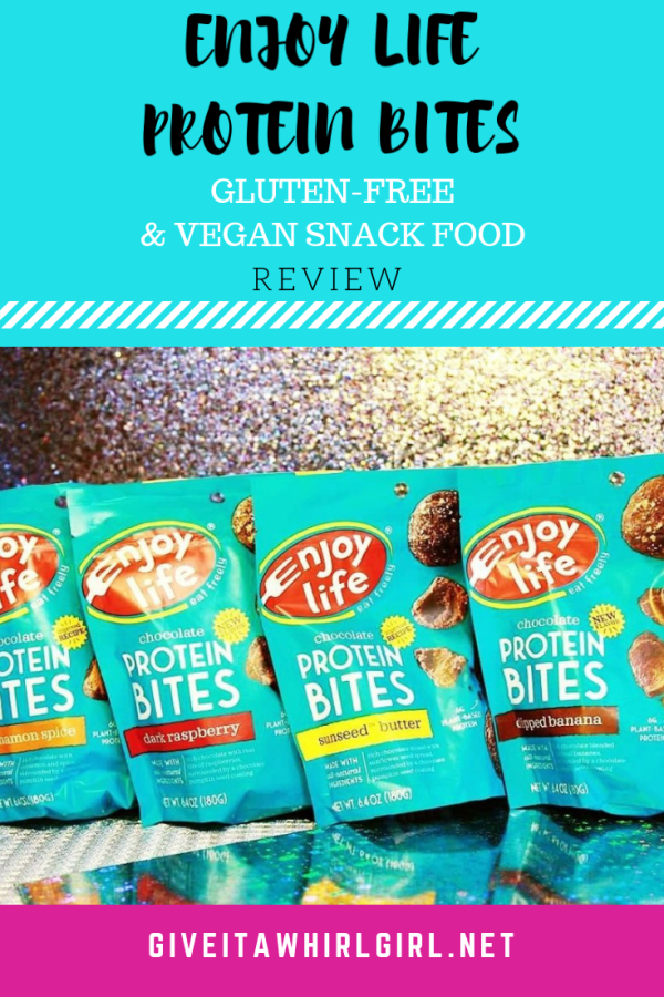 Enjoy Life Foods Protein Bites REVIEW by Give It A Whirl Girl