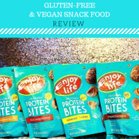 Enjoy Life Protein Bites REVIEW - A Vegan & Gluten-Free Snack Available In A Variety Of Flavors!