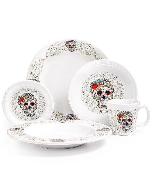 fiesta skull white