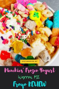 Menchie's Frozen Yogurt (FROYO) REVIEW (Warren, MI)