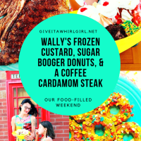 Wally's Frozen Custard REVIEW, Sugar Booger Donuts, & Coffee Cardamom Steak - Foodie Weekend Adventure