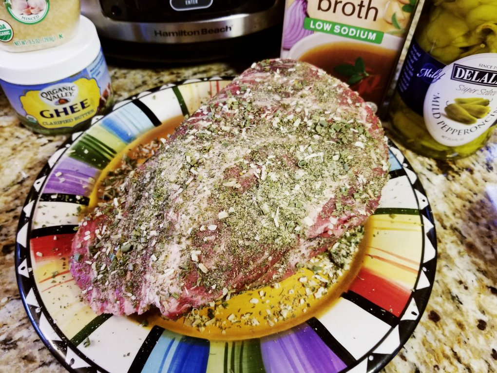 Ranch rub for Paleo Mississippi Pot Roast