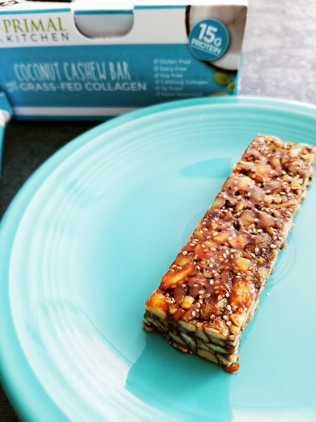 Primal Kitchen Coconut Cashew Collagen Bars