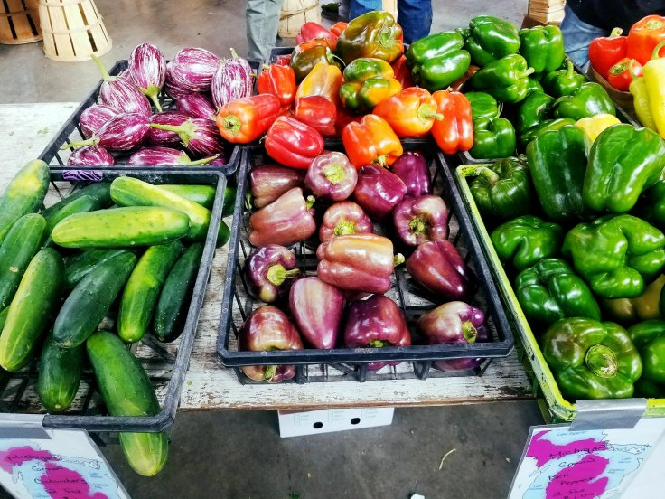 Beautiful vegetables at Eastern Market