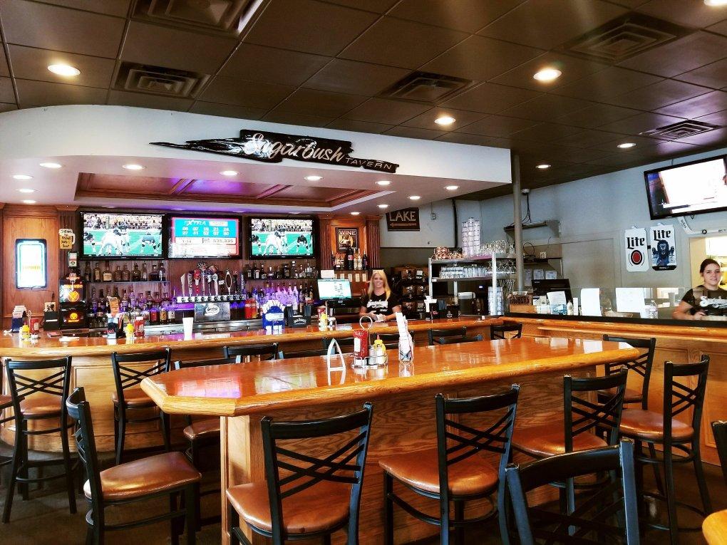 Interior of Sugarbush Tavern in Eastpointe, MI