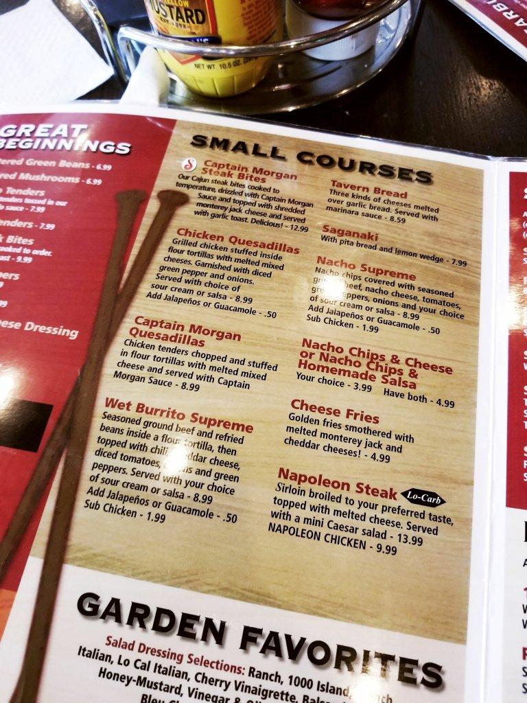 Sugarbush Tavern Small Courses