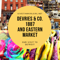 Trip To Eastern Market & DeVries & Company 1887 - Detroit