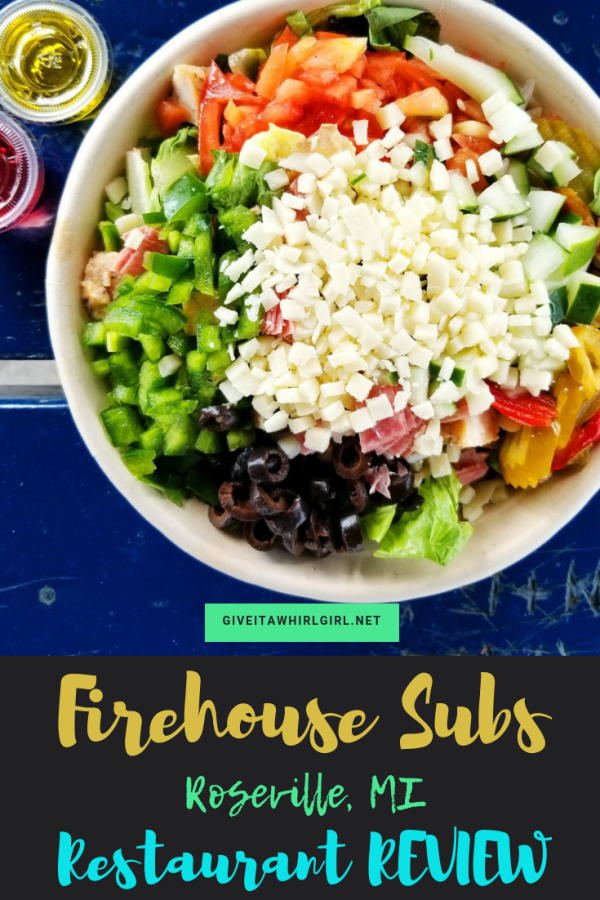 FIREHOUSE SUBS REVIEW (Roseville, MI)