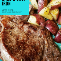 How To Get A Tender And Juicy Ribeye Steak With Herbed Ghee In A Cast Iron Pan