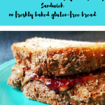 Warm Sunbutter & Raspberry Jelly Sandwich On Bob's Red Mill Bread