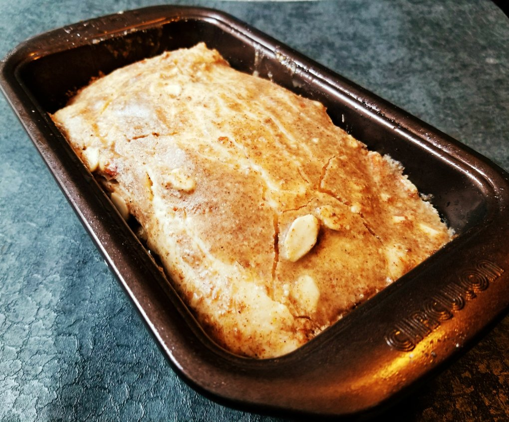 Wonderful gluten-free bread hot out of the oven