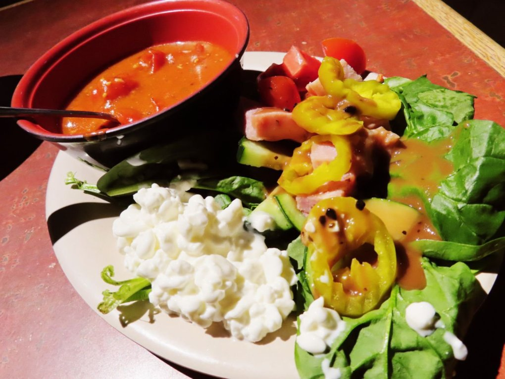 Salad at BD's Mongolian Grill
