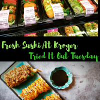 Fresh Sushi At Kroger - Tried It Out Tuesday