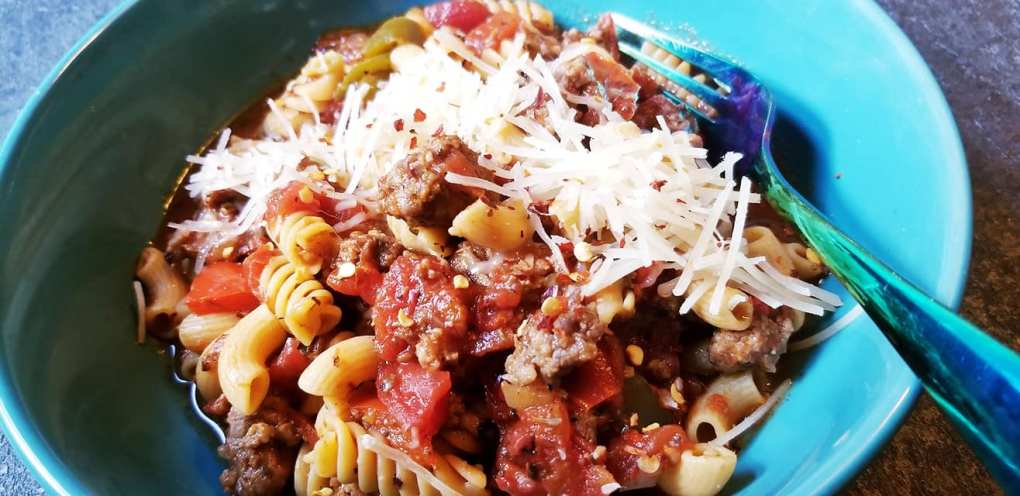 Gluten-Free Ground Italian Sausage Goulash