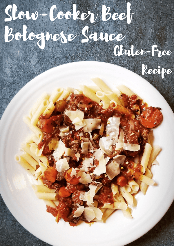 Slow-Cooker Beef Bolognese Sauce - RECIPE - Gluten-Free