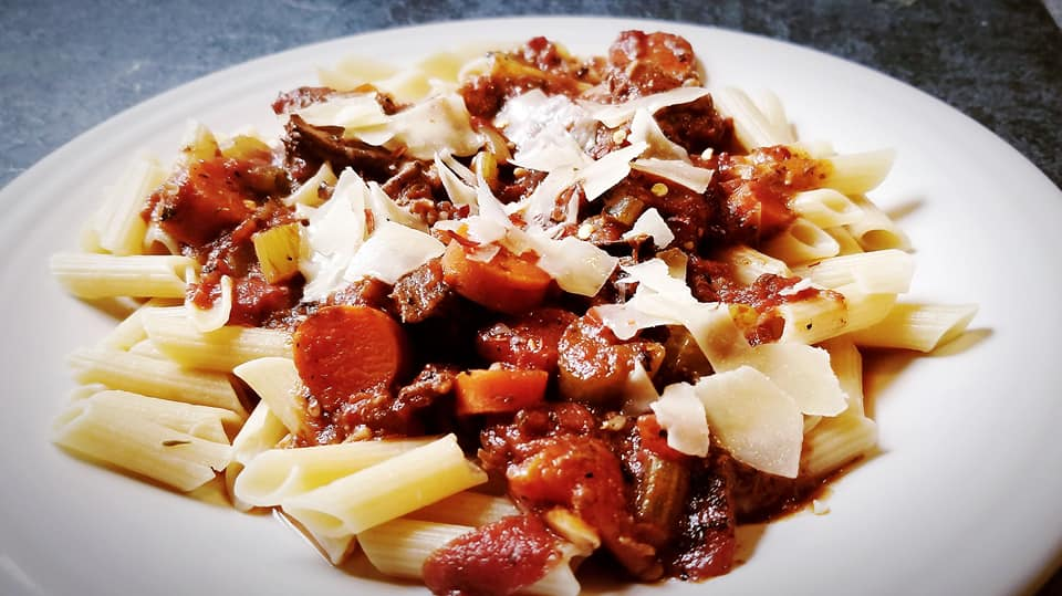 Gluten-Free Slow-Cooker Beef Bolognese Sauce