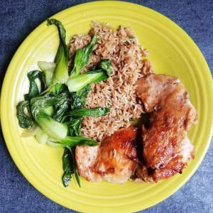 Marley Spoon - Japanese Chicken w/ Bok Choy & Fried Rice
