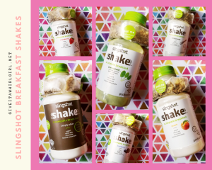 Slingshot Shakes - Complete Breakfast Protein Shake - REVIEW