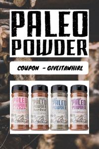 PALEO POWDER COUPON CODE - GIVEITAWHIRL