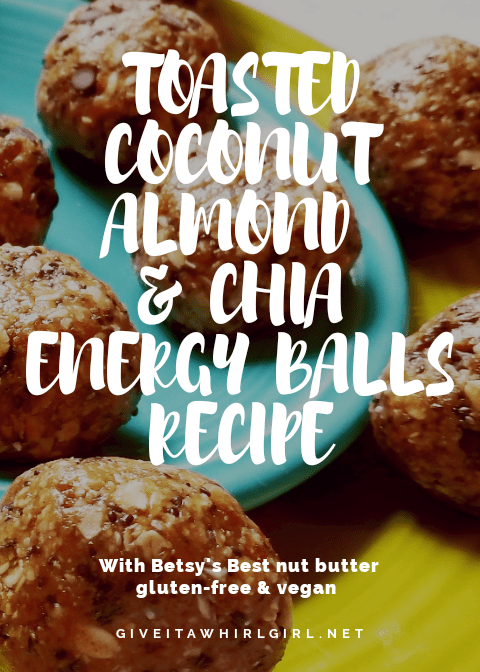 Toasted Coconut, Almond, & Chia Energy Balls