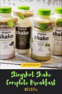 Slingshot Shakes Complete Breakfast - Drinkable Yogurt With Granola Shot - REVIEW