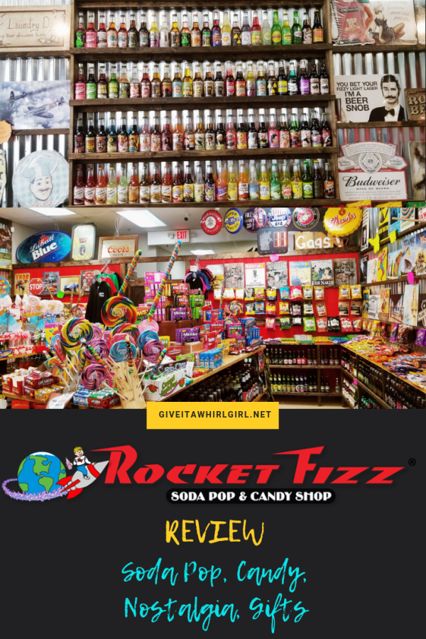 ROCKET FIZZ REVIEW (Soda Pop, candy, nostalgia, gifts)