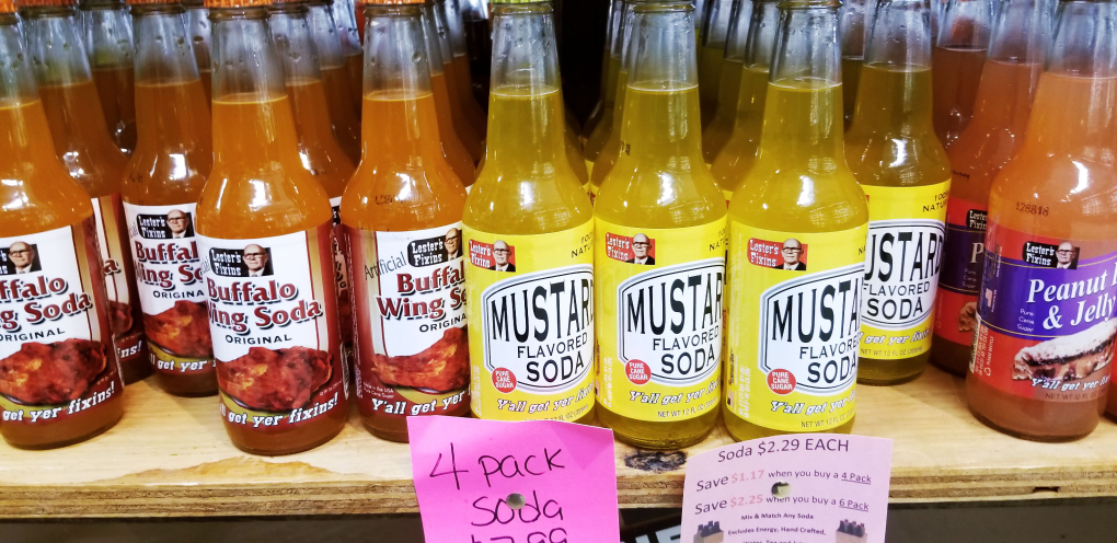 What do you think of these weird flavors of soda-pop?