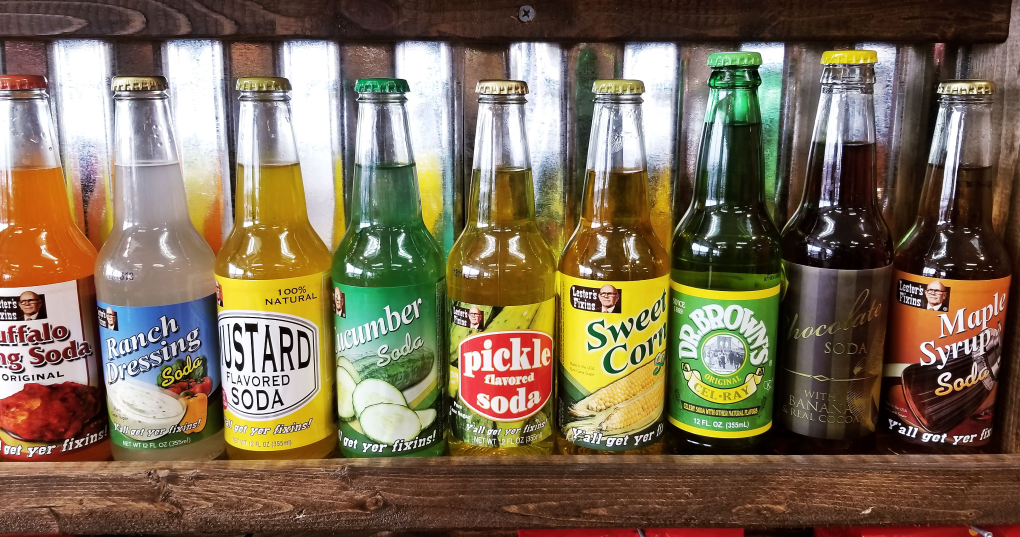 What flavor of soda-pop would you give a whirl to?
