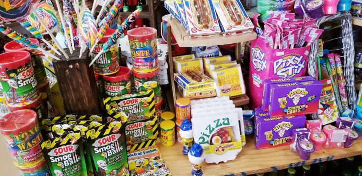 Candy at Rocket Fizz