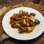 Paleo Root Vegetable Pot Roast RECIPE by Give It A Whirl Girl