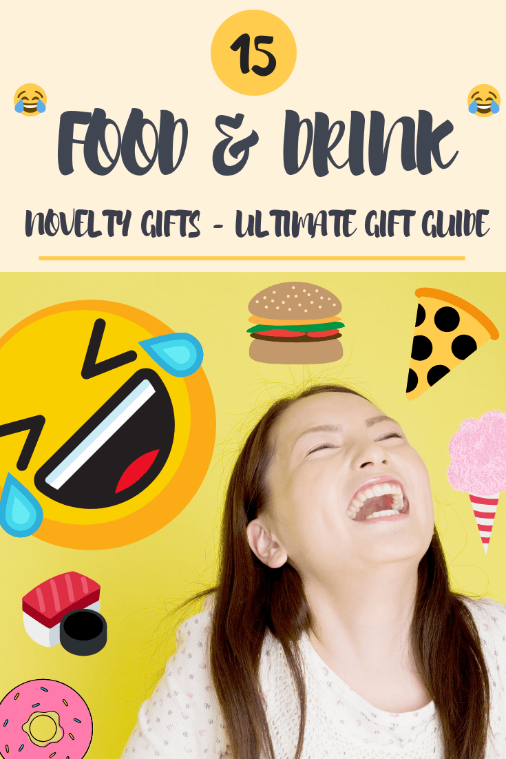 15 Food & Drink Novelty Gifts - Ultimate Gift Guide by Give It A Whirl Girl