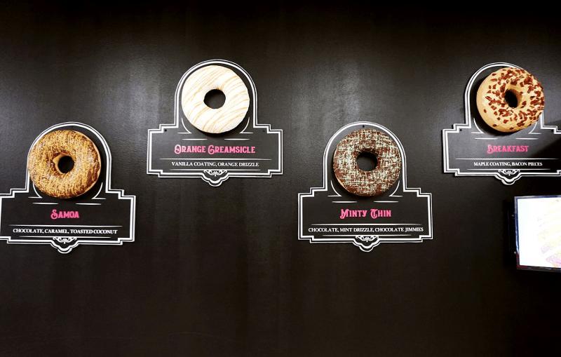 Daddy's Doughnuts signature flavors