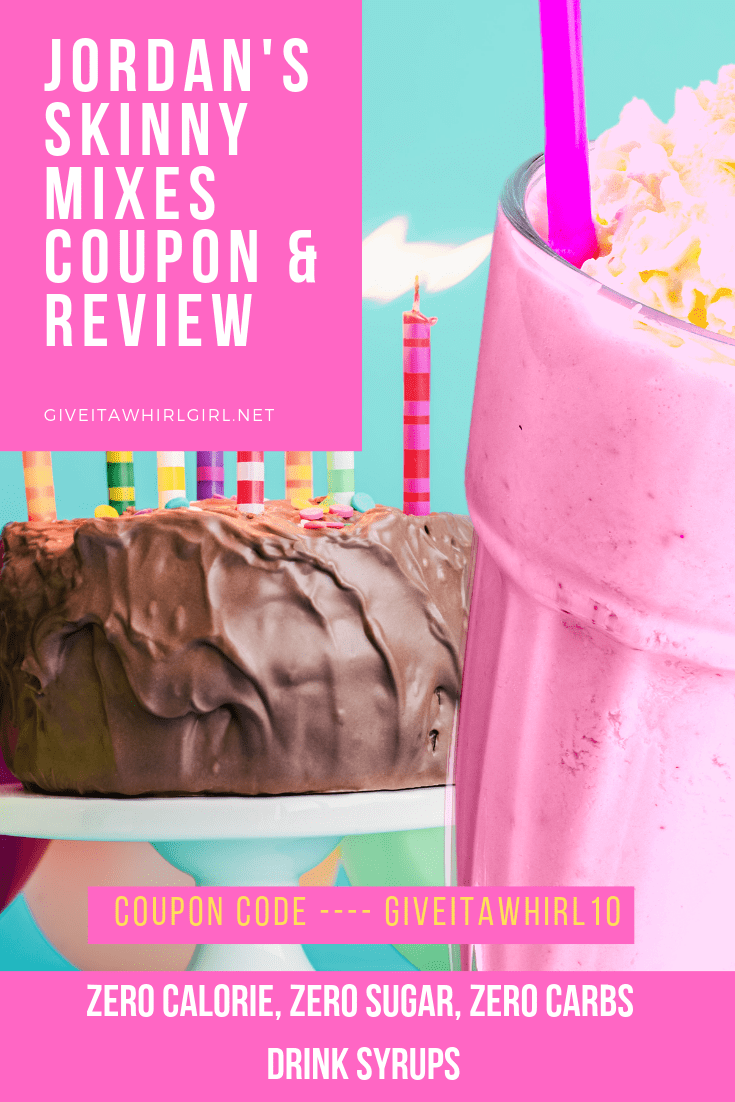 Jordan's Skinny Mixes COUPON & REVIEW - KETO Friendly Zero Calorie, Zero Sugar, Zero Carbs Drink Syrups & More!