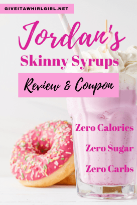 Jordan's Skinny Syrup / Jordan's Skinny Mixes COUPON and REVIEW by Give It A Whirl Girl - Coupon Code - GIVEITAWHIRL10