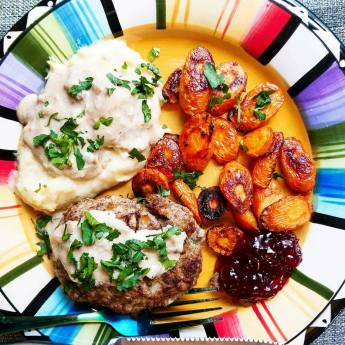 Hello Fresh Swedish Meatloaf Dinner by Give It A Whirl Girl
