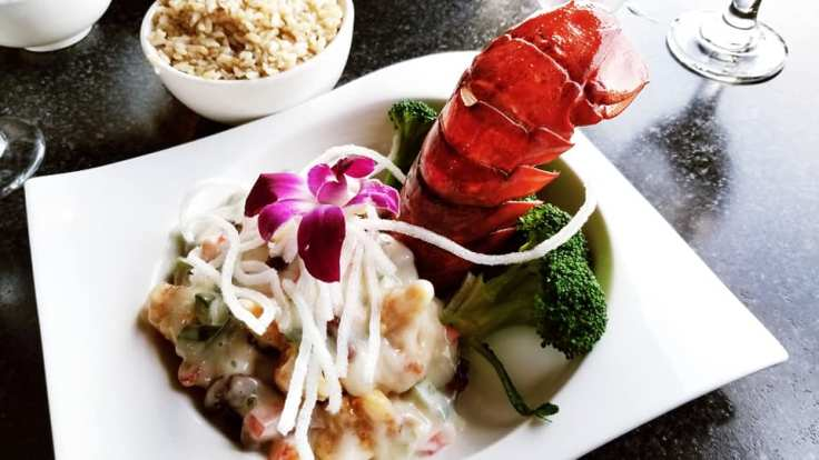 Ok guys! I am obsessed with Inyo. Here is a photo of my Walnut Lobster. This was the most recent meal that I ordered