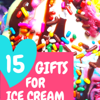 15 Unique Gifts For Ice Cream Lovers - Ultimate Ice Cream Gift Guide - I SCREAM YOU SCREAM... We All Scream For Ice Cream!!