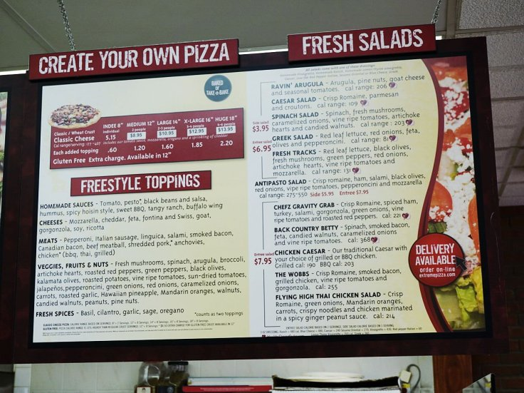 Build-Your-Own Pizza and Salads at Extreme Pizza