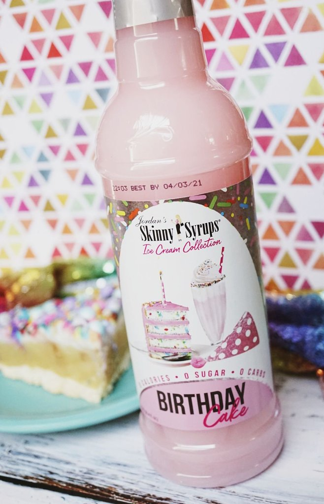 Birthday Cake Jordan's Skinny Syrup