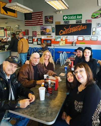 Seeburger's Cheeseburgers is a great place to take the entire family!