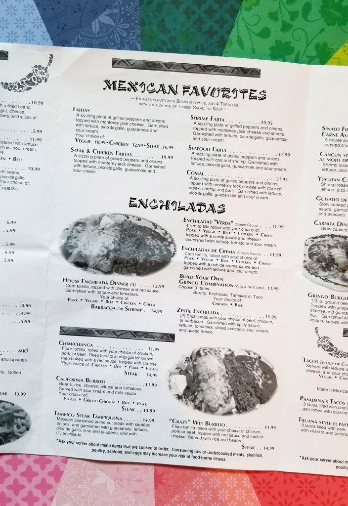 Crazy Gringo Mexican Cantina - Mexican favorites, enchiladas, and more!