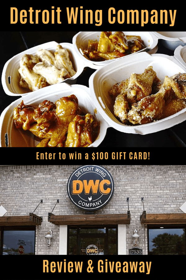 Detroit Wing Company REVIEW and GIVEAWAY