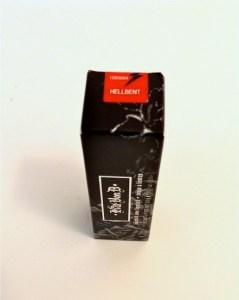 Kat Von D hellbent lipstick box top