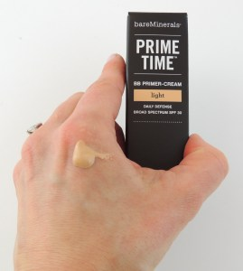 bareMinerals Prime Time swatch
