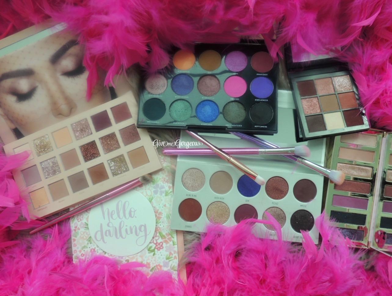 Valentines eyeshadows 12