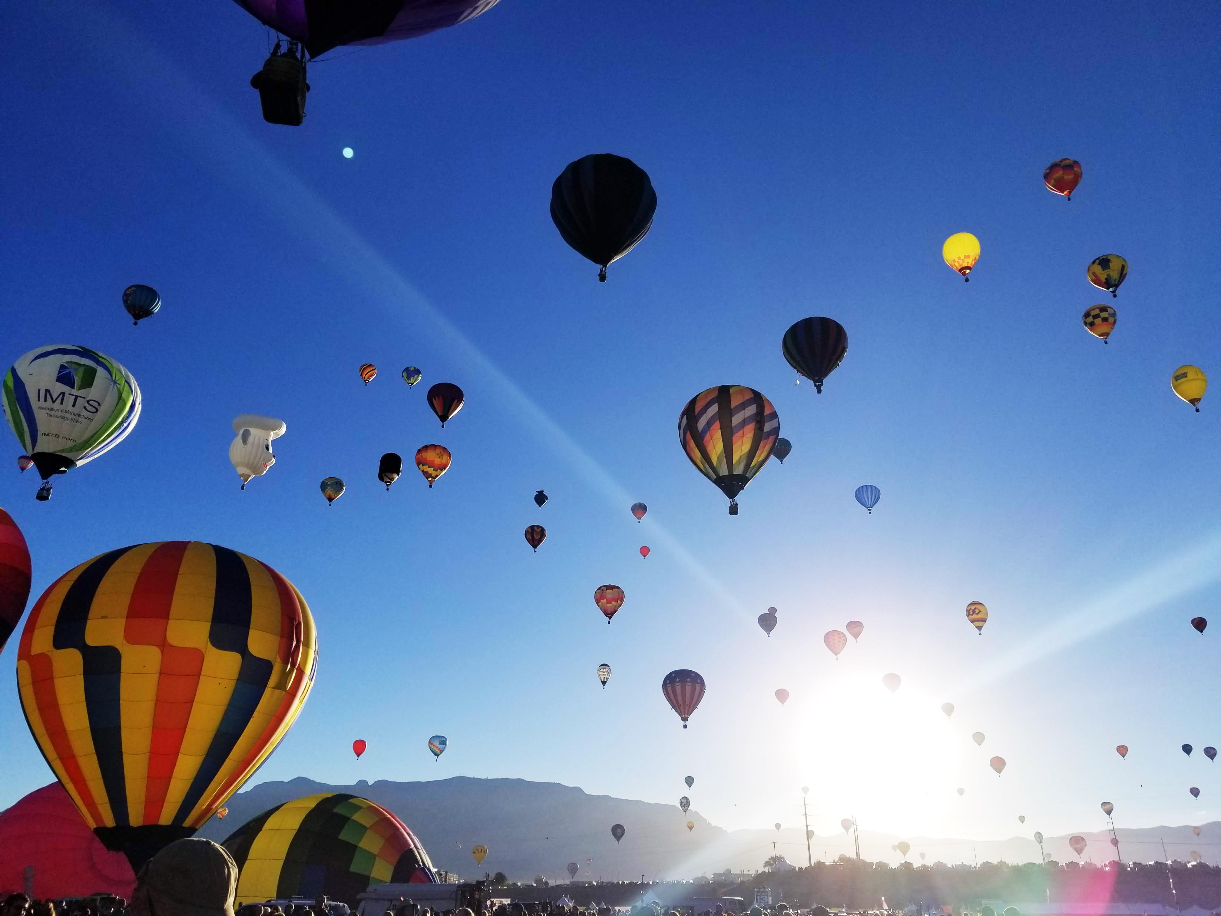 travel blog: albuquerque, nm + international balloon fiesta