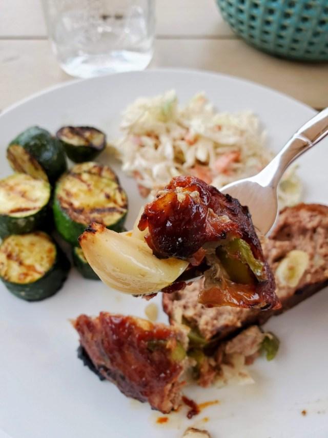Garlic Meatloaf Dinner