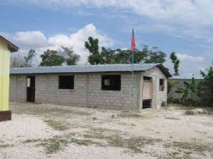 The school still needs much work.  We have to get windows and doors installed, the walls need to be stuccoed inside and out and we need to  build partition walls for each class.  Please pray that God will send teams to help us complete this for the next school year.
