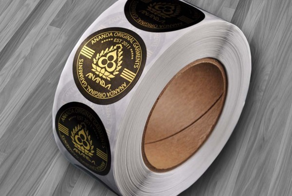 Circle Labels on a roll