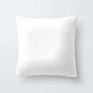 White blank sublimation pillow case